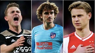 How Barcelona COULD line-up with Griezmann, De Ligt & De Jong next season