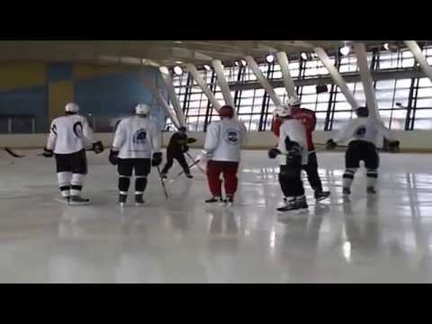 Besa Tsintsadze's power skating video with S Gonchar & E Malkin   part1