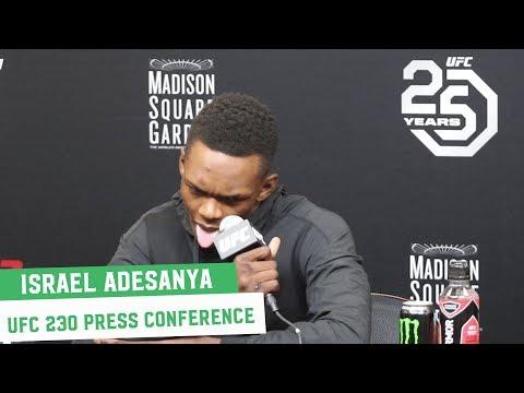UFC 230: Israel Adesanya Post Fight Press Conference