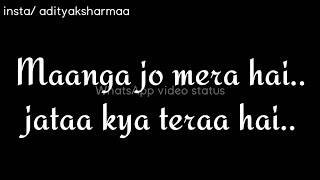 Kaisa Khuda hai tu Bas Naam Ka Hai Tu Mp4 कैसा खुदा है तू बस नाम का है तू