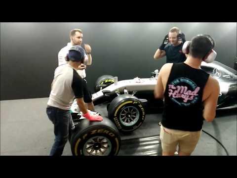 Changing Formula 1 Tires (Petronas Malaysia Grand Prix Exhibit)