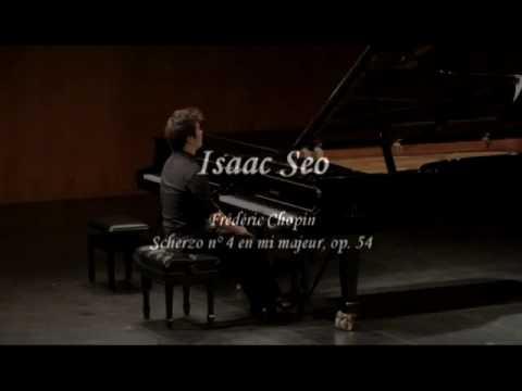 Frederic Chopin Scherzo No.4 By Isaac Seo 서이삭 1/2
