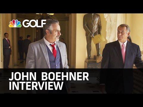 John Boehner on Feherty - Mon Aug 3rd @ 10PM ET   Golf Channel