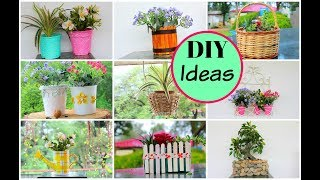 how to decorate old flower pots into new (Part 1) / DIY for Home Decor
