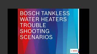 Virtual Troubleshooting for Bosch Domestic Hot Water 20200929 1501 1 5