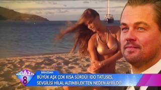 Lenoarda Di Caprio'nun Yeni Sevgilisi Bikini Dolabını Açtı Ortalık Fena Karıştı