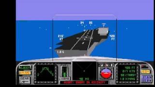 [AMIGA] F/A-18 Interceptor - Intercept Incoming Cruise Missile (Mission 5)