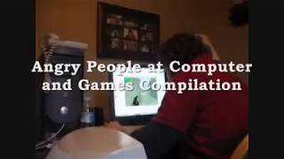 Angry Gamers at Computers And Games ( Funny)