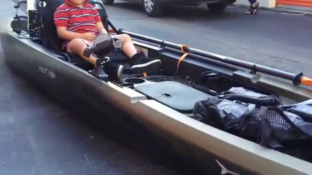 Ascend Fs12t 2015 Fishing Kayak Brand New Youtube