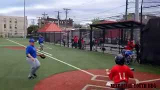 Adam and Anthony hook up for nice play at the plate