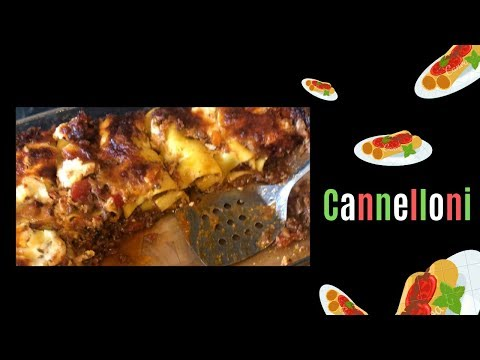 Delicious & Easy Beef Cannelloni Recipe :) Cook With Me