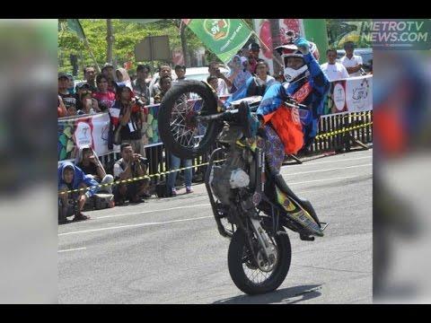 stund rider wawan tembong di Batam