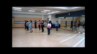 Running ~ Will Craig - Line Dance (Danced & Walk thru)