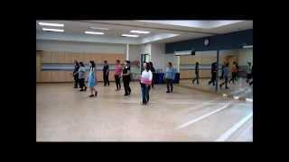 Running ~ Will Craig - Line Dance (Danced & Walk thru)