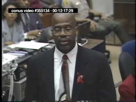 OJ Simpson Trial - September 27th, 1995 - Part 1