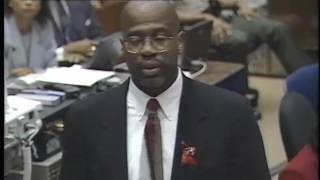 OJ Simpson Trial - September 27th, 1995 - Part 1