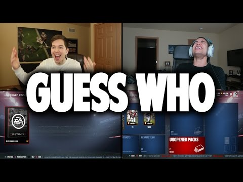 GUESS WHO MADDEN W/ DISGUSTING SMOOTHIE FORFEIT!! MADDEN 17