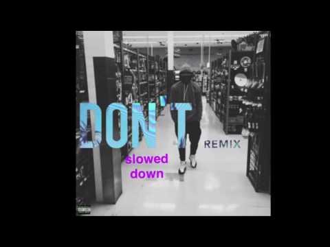 Bryson Tiller - Don't (J-Louis remix, slowed down)