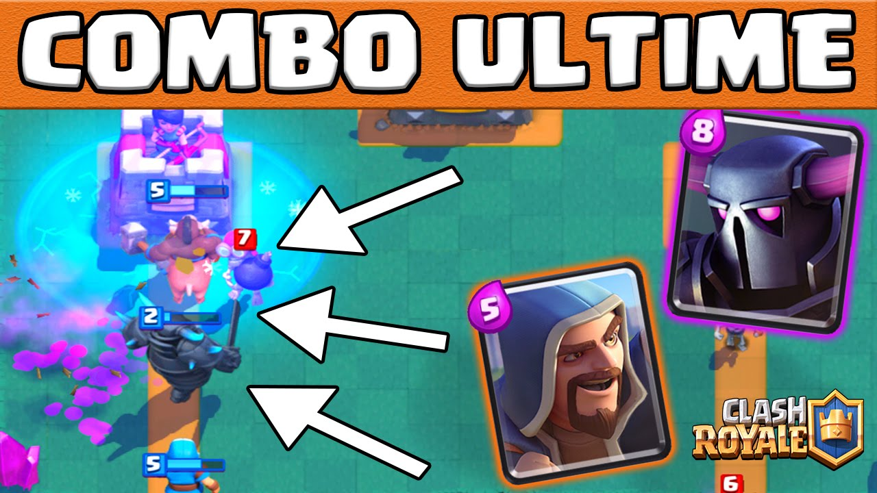 Meilleur deck rush en ar ne ultra rapide clash royale for Clash royale meilleur deck arene 7