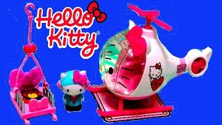 Hello Kitty Emergency Helicopter Playset - itsplaytime612