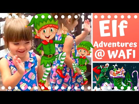 Elf Adventures @WAFI Mall Dubai | Christmas 2019 |🎅🎄🇦🇪