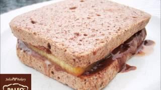 Paleo Hazelnut Chocolate Paleo Bread™ Sandiwch