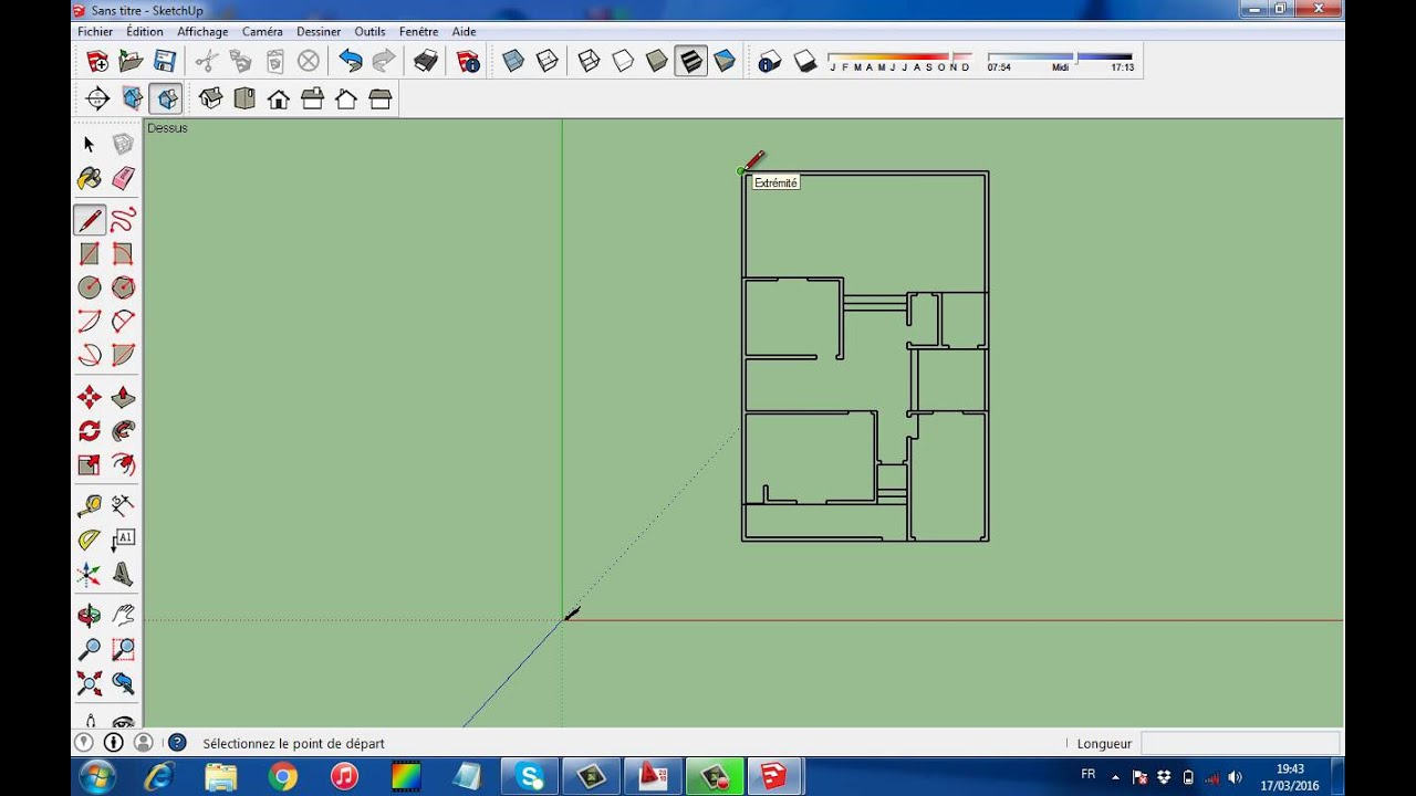 Comment importer un fichier autocad a sketchup youtube for Sketchup import