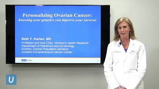 Personalizing Ovarian Cancer: Knowing your Genetics