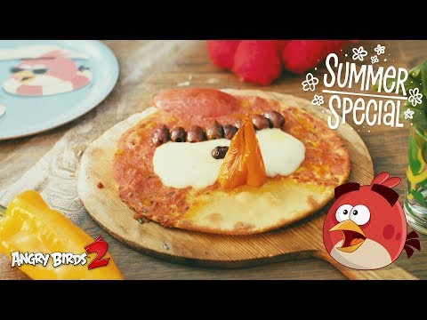 Angry Birds 2 | Cooking Red Pizza - Summer...