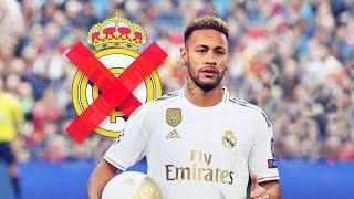 La raison exceptionnelle pour laquelle Neymar n a pas signé au Real Madrid Oh My Goal