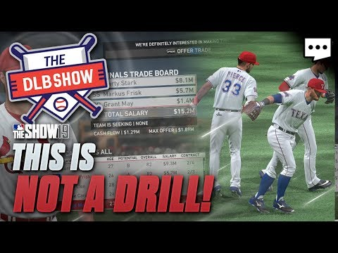 26 Players Traded, 20 New Players Added | MLB The Show 19 Franchise DLB Ep 20