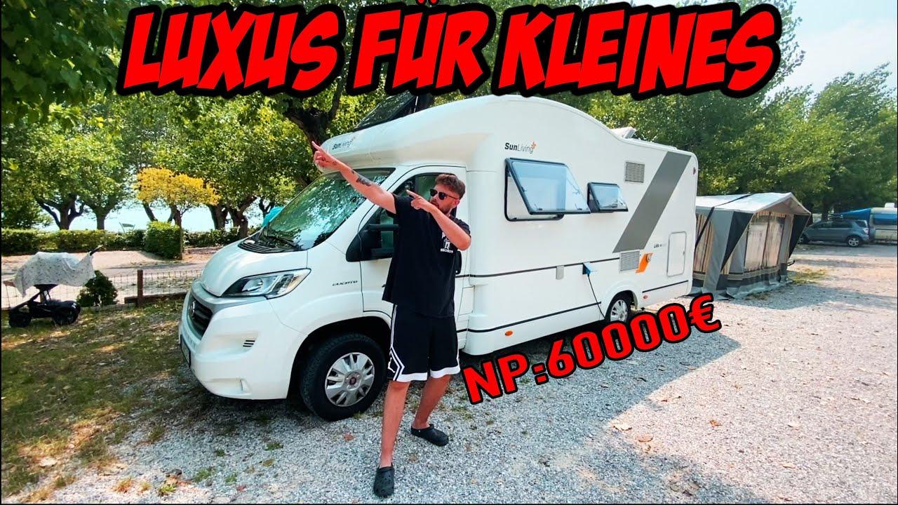 So viel habe ich für den 2018er Luxus Liner bezahlt! Wohnmobil Roomtour in Italien