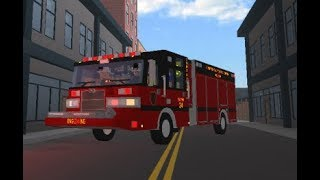 Roblox Lets Play #4 (Silverton Volunteer Fire Department) High-rise Fire