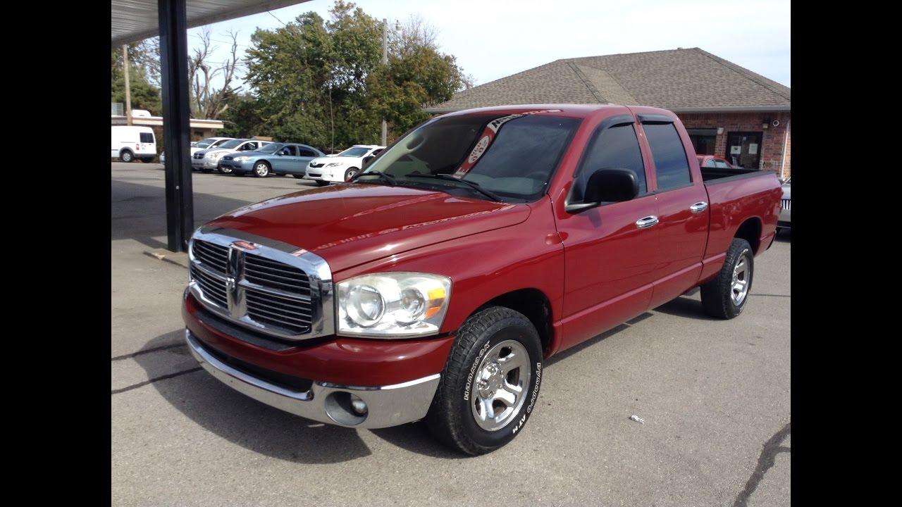 Used Trucks OKC 2007 Dodge Ram buy here pay here 947-1833 - YouTube