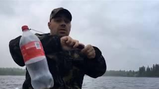 Жесть рыбалка от Михалыча! Клюют монстры в метель на ЗИМНИЙ СПИННИНГ!