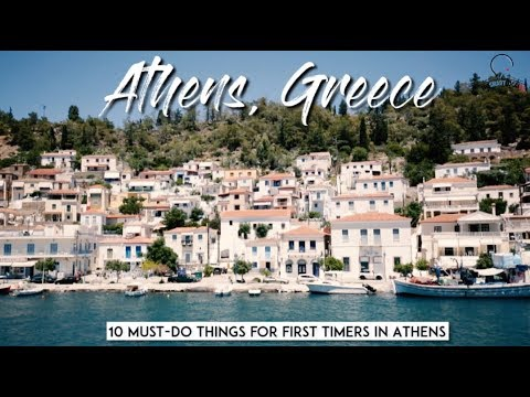 10 must-do things for first timers in Athens!