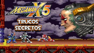 PS1 Megaman X5 - Trucos Secretos