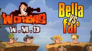 Bella og Far spiller Worms W.M.D (HD)
