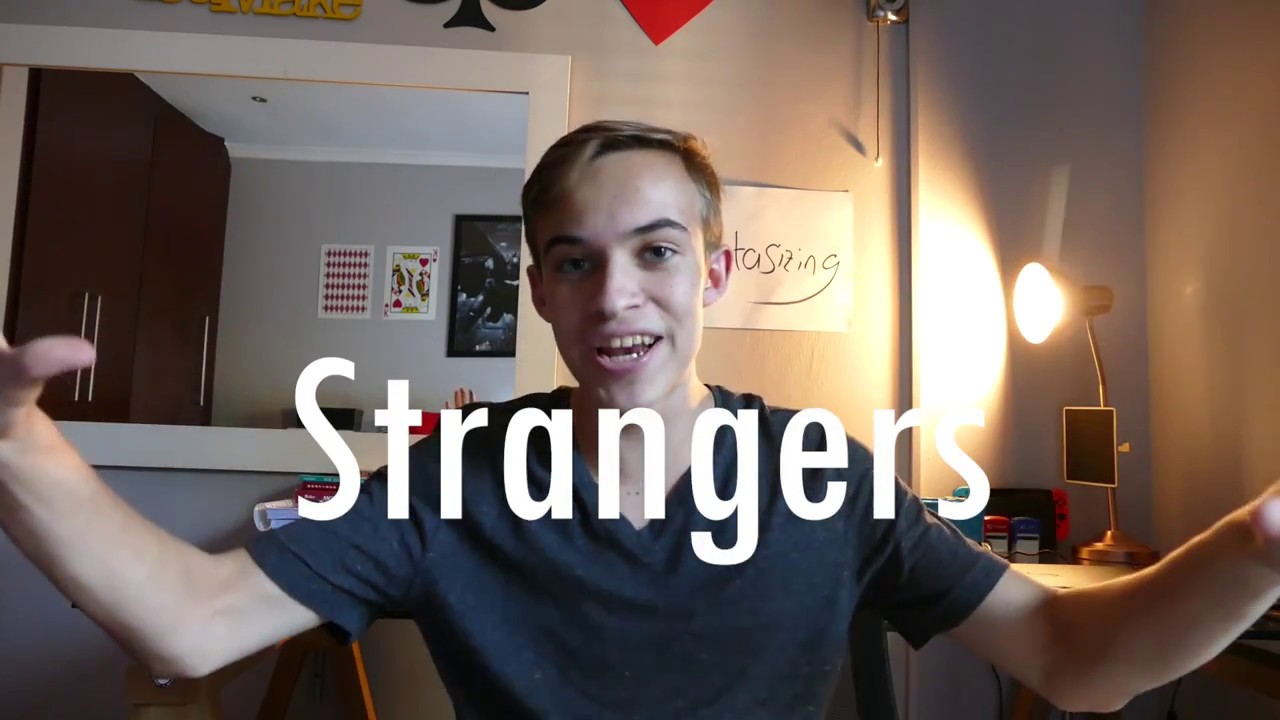 how to approach a stranger