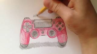 Drawing a PS4 controller