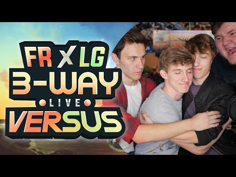 IN PERSON! | 3 WAY Pokemon Fire Red & Leaf Green Versus [Live]