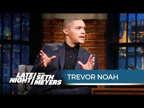 Trevor Noah Is Experiencing His First American Election Year - Late Night with Seth Meyers