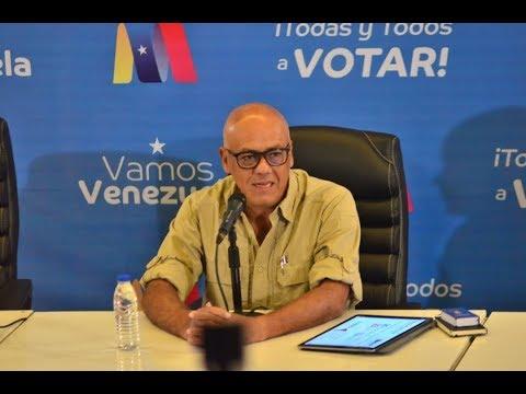 Jorge Rodríguez, rueda de prensa completa del Comando Simón Bolívar, 21 mayo 2018