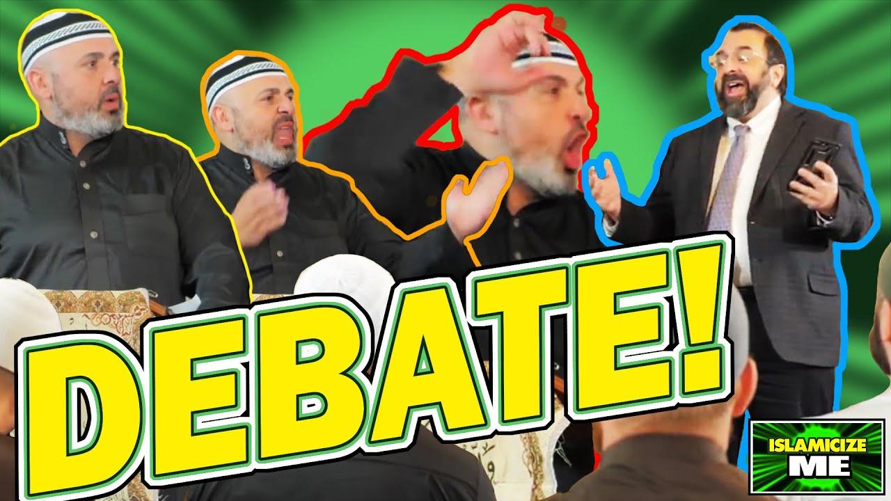 Robert Spencer vs. Muslim Sheik (Debate)   ISLAMICIZE ME Day 29 Special Edition