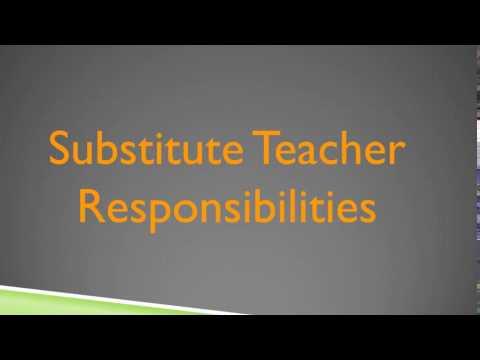 Aesop Substitute Teacher Responsibiliteis Video