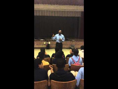 Hear Chris Speak at The Urban Assembly School for Global Commerce