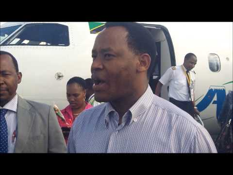 Air Tanzania yaanza safari za Arusha na Zanzibar - Mhe. Lazaro Nyalandu