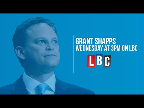 Conservative Chairman Grant Shapps Live On LBC