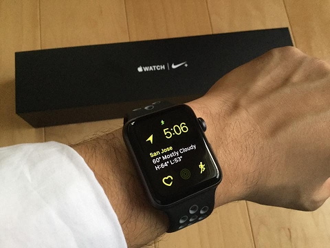 apple nike watch series 2. apple watch series 2 unboxing: 42mm space gray aluminum nike band