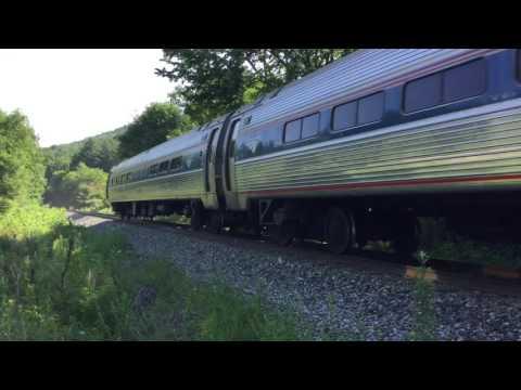 Railfanning Milton, Vermont - July 6-7, 2016